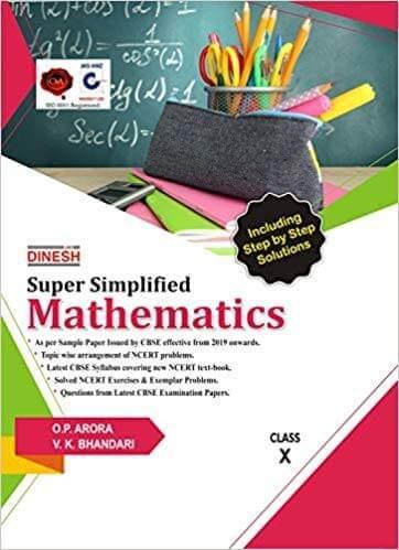 Dinesh Super Simplified Mathematics Class 10 (2019-2020) by