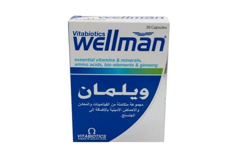Wellman Health Vitality Energy Release 30 Caps