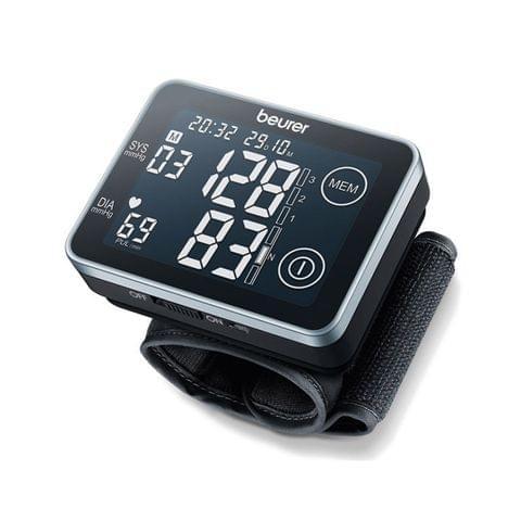 جهاز قياس ضغط الدم من المعصم شاشة تعمل باللمس BC 58