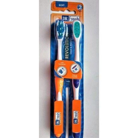 فرشاة للأسنان ريفولوشن- ناعمة