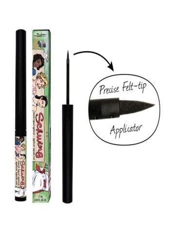 سشيوينق قلم تحديد العين سائل-أسود