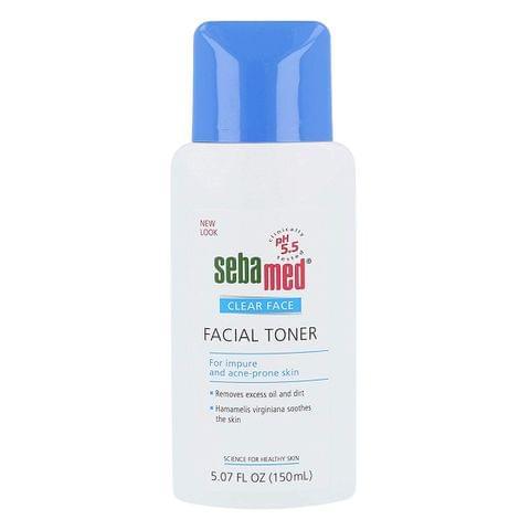 سيباميد تونر كلير فيس لتنظيف الوجه العميق 150 مل