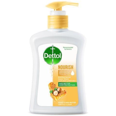 غسول يدين مضاد للبكتيريا مغذي بالعسل وزبدة الشيا 200مل