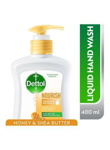 ديتول سائل غسيل لليدين تغذية بالعسل 400ml