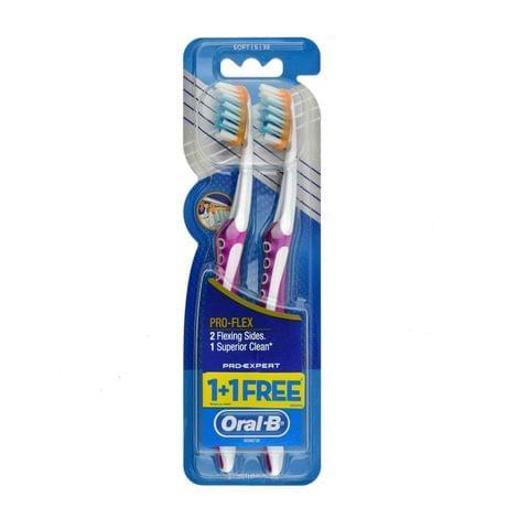فرشاة أسنان 1 + 1 مجانا