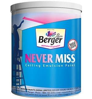 Never Miss Premium Ceiling Emulsion