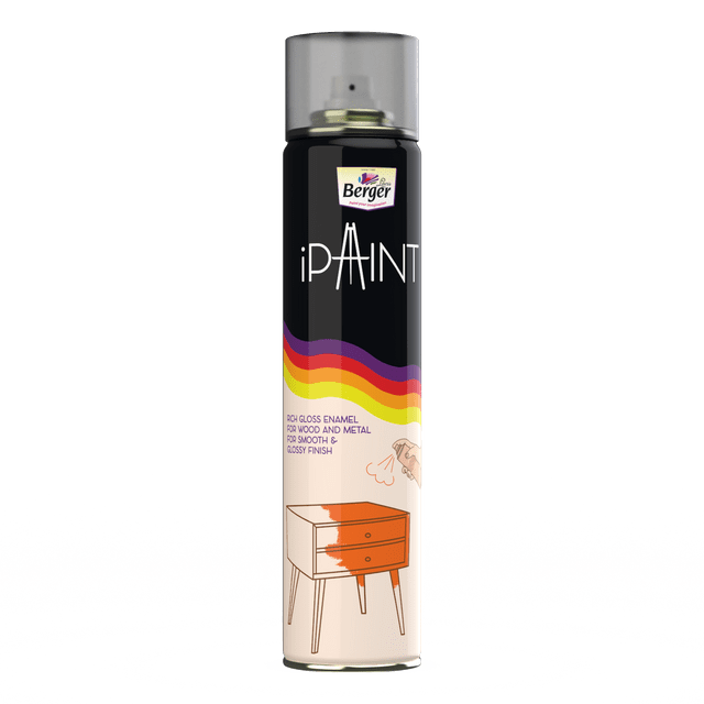 White Spray Paint by Berger iPaint - 400ml