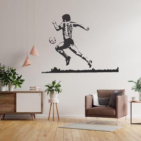 """DIY Wall Stickers Maradona for Home Décor (36""""X24"""")"""