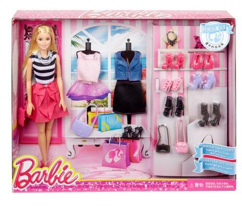 BARBIE FASHION ACCESSORIES AND SHOES