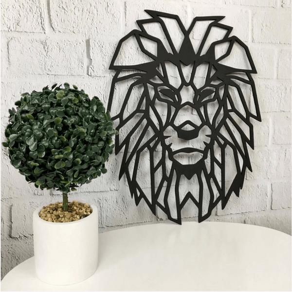 Wall Décor-Geometric head