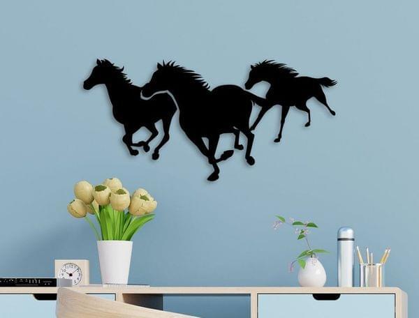 Wall Décor- Running horses
