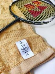 Sports Towel Pack of 3 (Golden Brown)