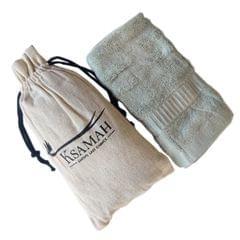Bamboo Hand Towel Green Colour