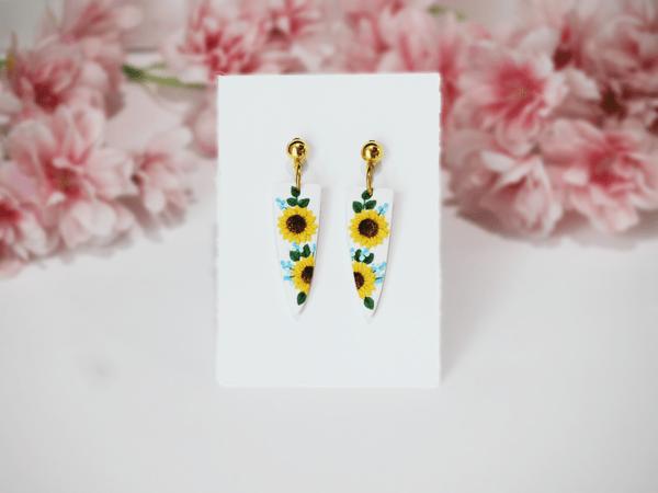 Sunny Yellows Earrings